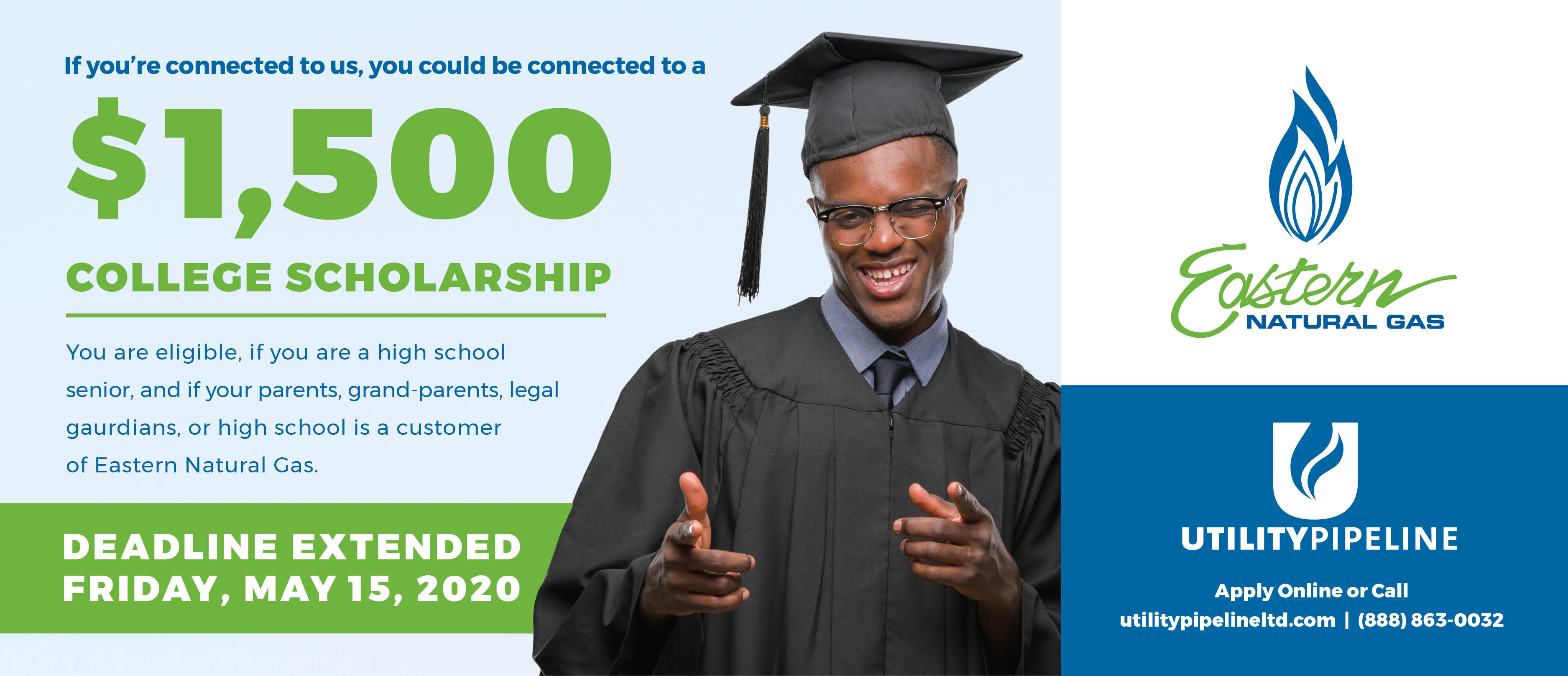 Eastern Natural Gas Scholarship Ad